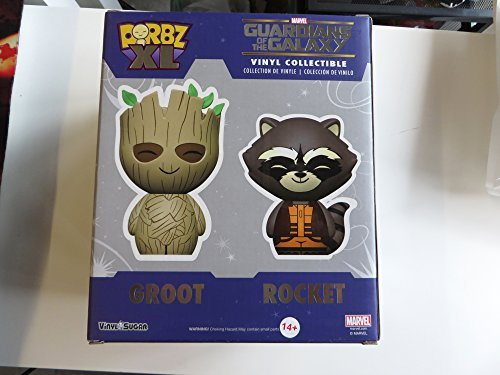 """Funko 2015 Convention Exclusive Dorbz XL 6"""" Guardians Of The Galaxy Mossy Groot"""