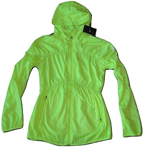 Nike Dri Fit Stay Cool Women's Training Jacket Running 380364 Volt Yellow (Yellow Jacket Nike)