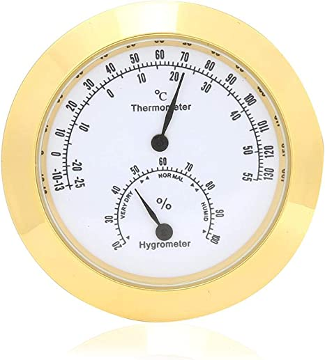 Thermometer Hygrometer Office Portable Temperature Humidity Meter Indoor Analog