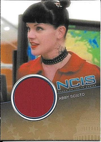 2012 Rittenhouse NCIS #CC6 Pauley Perrette as Abby Sciuto Costume Relic #472/500