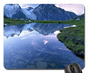 alpine pond Mouse Pad, Mousepad (Mountains Mouse Pad)