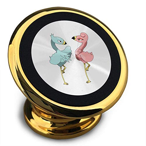 Cutout Front Flamingo Universal 360° Rotation from Dashboard Compatible Magnetic Car Phone Mount Holder for iPhone, IPad and More