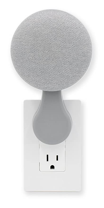 This Mini Plug In Mount Google Home Mini Accessory Chalk