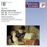 Mozart: Piano Concertos, No. 21 & 26 (Essential Classics)