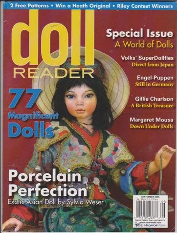 Doll Reader Magazine (September 2005) (Porcelain Perfection - Exotic Asian Doll + Special Issue - A World of Dolls) (Magazine Reader Doll)