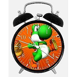 New Yoshi Alarm Desk Clock 3.75 Room Decor W11 Will Be a Nice Gift