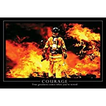 """Courage Poster Firefighter How I Met Your Mother (36""""x24"""")"""