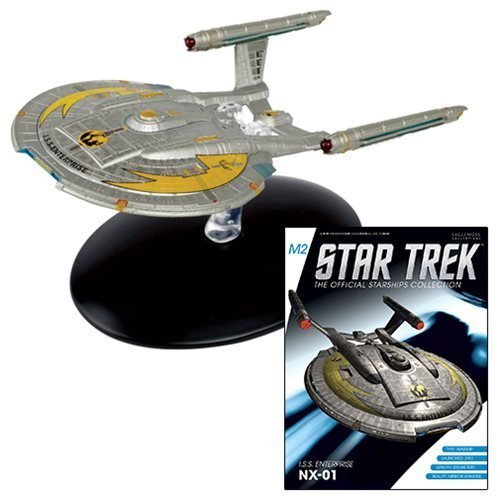 Ships Mirror - Star Trek Starships Special Mirror Universe Enterprise NX-01 Die-Cast Metal Vehicle with Collector Magazine #7