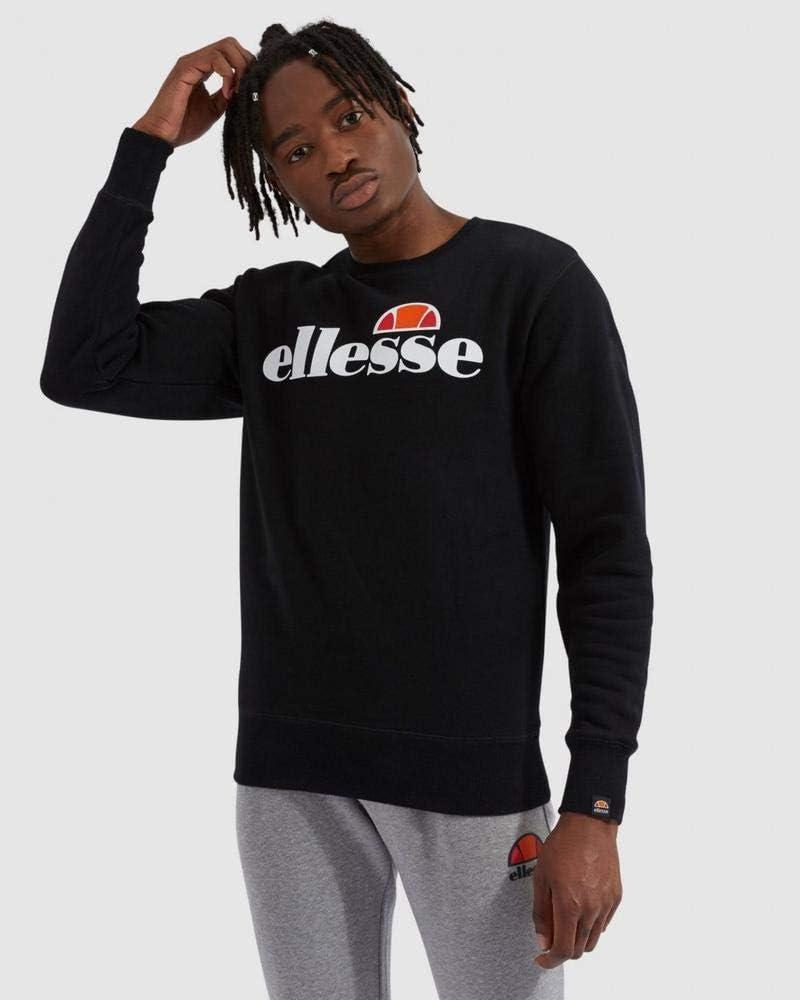 Ellesse SL Succiso Sweatshirt Black Hombre Hombre: Amazon