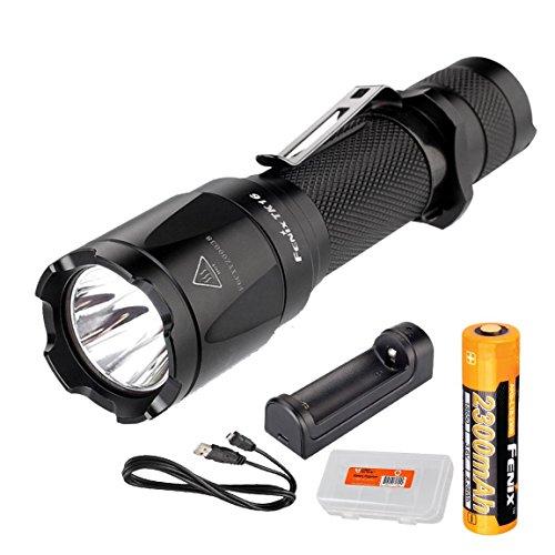 Fenix Tactical Flashlight Instant Rechargeable