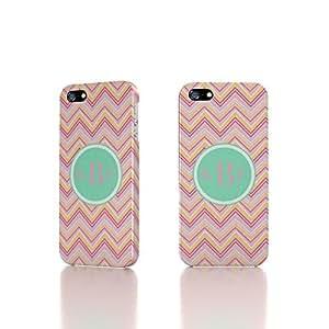 Apple iPhone 5 / 5S Case - The Best 3D Full Wrap iPhone Case - Chevron Monogram