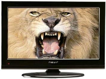 Nevir NVR-7201-19HD-N - Televisión LCD, pantalla de 19 pulgadas, Dolby digital plus, USB 2.0, color negro: Amazon.es: Electrónica