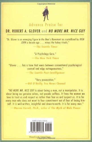 No More Mr Nice Guy: Amazon co uk: Robert A  Glover