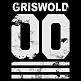 New Mens Frosty Tees Clark Griswold Chicago Hockey Jersey Christmas Soft T Shirt Tee Black L
