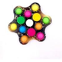 Pop Spinner Com Luz Sensorial 3 Em 1- BANANA TOYS