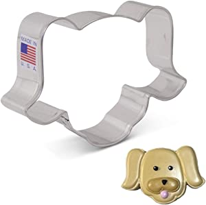 Ann Clark Cookie Cutters Puppy/Dog Face Cookie Cutter, 4