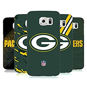 Official NFL Green Bay Packers Logo Hard Back Case for Samsung Galaxy S6 from Head Case Designs