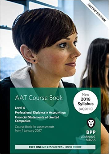 Book AAT Financial Statements of Limited Companies: Coursebook
