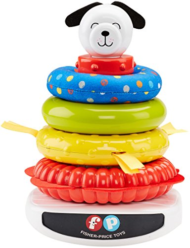 Ring Plush Stacker - Fisher-Price Roly Poly Rock-A-Stack