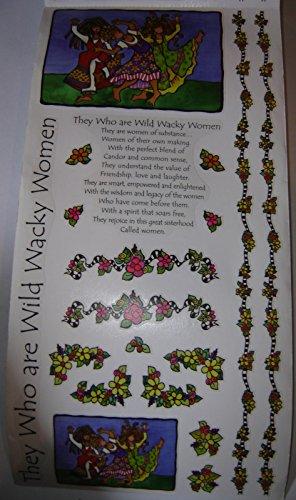 Suzy Toronto Sticker Sheet They Who are Wild Wacky Women ()
