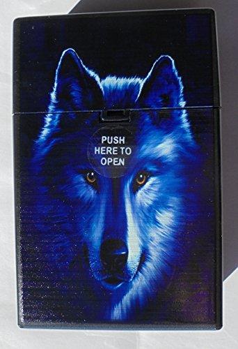 Push Open Plastic Cigarette Cases