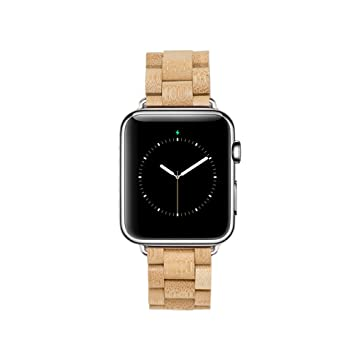 MAM Originals · Apple Watch Strap | Correa para Apple Watch | Creada con madera sostenible | Alta calidad a buen precio (38 mm, Bambú): Amazon.es: ...