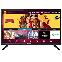 Kodak 80 cm  32 inches  HD Ready LED Smart TV 32HDXSMART Pro  Black   2019 Model  Smart Televisions