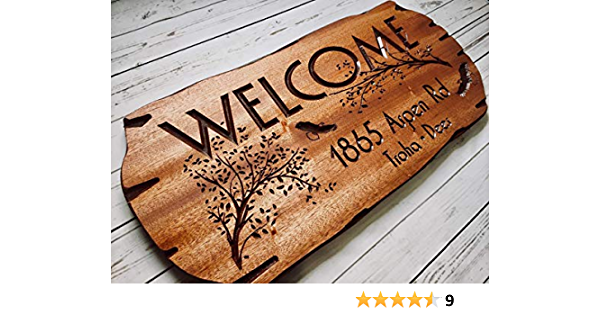 If You Want To See Me If You Want To See My House Custom Carved Wooden Sign Come Anytime Make An Appointment