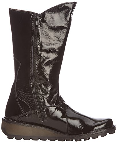 Fly London - Botas para mujer Negro (Black Patent)