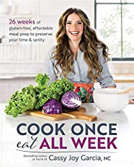 Cook Once, Eat All Week is a revolutionary way to get a delicious, healthy, and affordable dinner on the table FAST. Author Cassy Joy Garcia will walk you through this tried-and-true method and show you how batch-cooking a few...