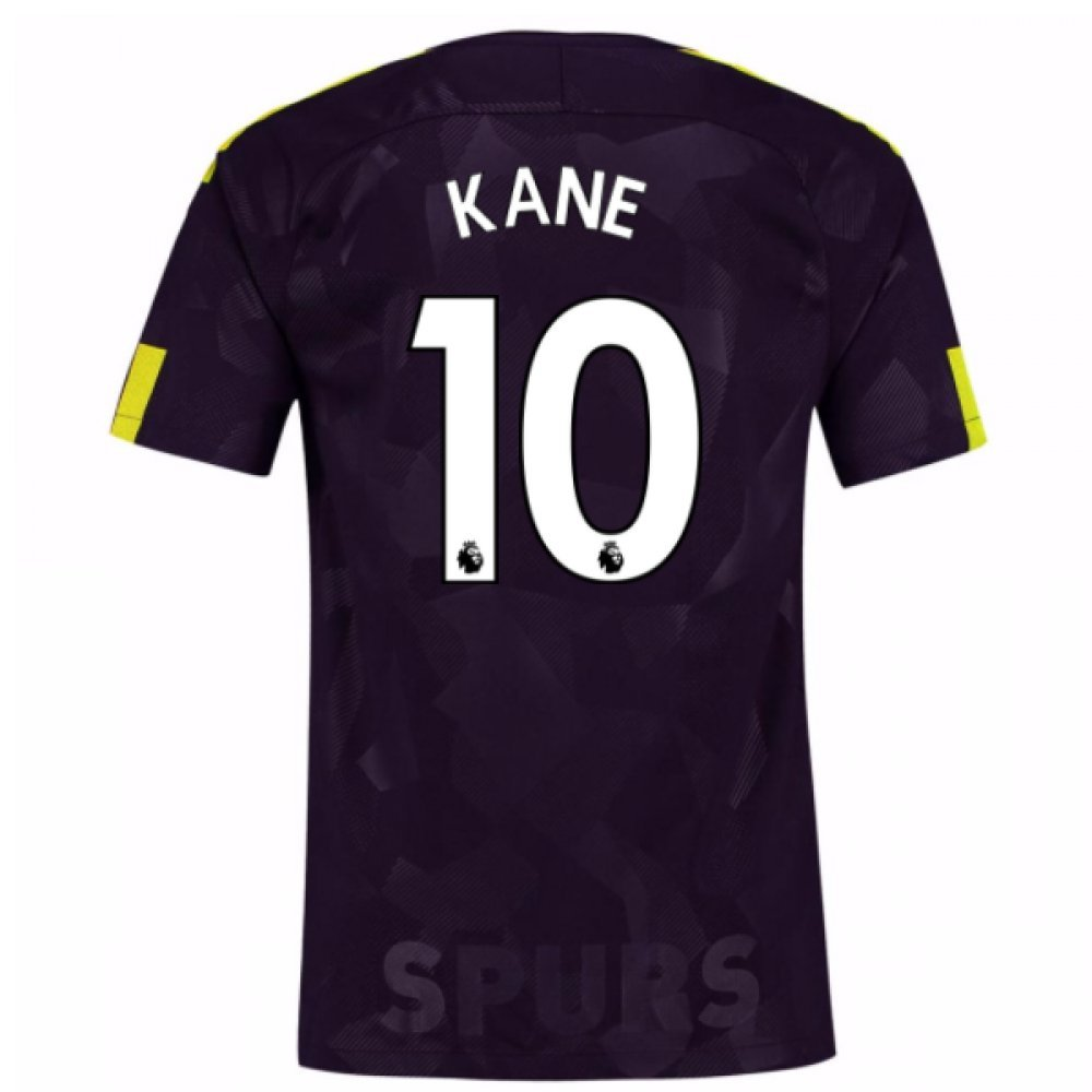2017-18 Tottenham Third Football Soccer T-Shirt Trikot (Harry Kane 10)