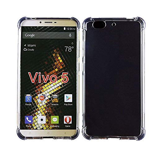 Zshion for BLU VIVO 5 Case,[Ultra Slim ][Scratch Resistant] Lightweight Protect Cover Soft TPU Case for BLU VIVO 5 Crystal Clear