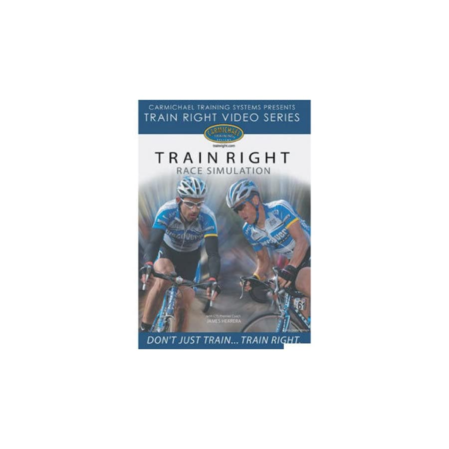 Carmichael Training Systems Carmichael Race Simulation DVD Video