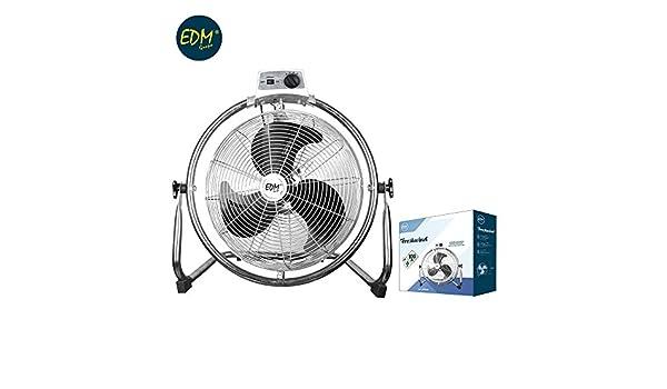 Ventilador industrial oscilante 100W 45cm EDM 33938: Amazon.es: Hogar