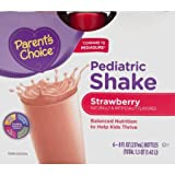 Parent's Choice 48 fl oz Strawberry Pediatric Shake, 6 Counts