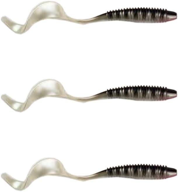 3 Stk Wurm Twister Softbaits 13 cm Gummik/öder Barsch Kunstk/öder Angelk/öder Hecht