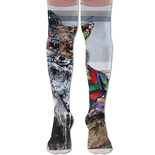 Graffity Street Art Unisex Fashion Socks Athletic Stockings 60cm Over The Knee Long Socks (Graffity Cool)