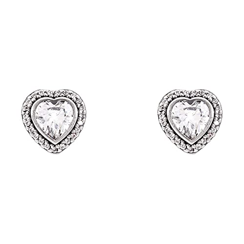 94381eab808fe Pandora Sparkling Love Silver Stud Earrings With Cubic Zirconia 290568CZ