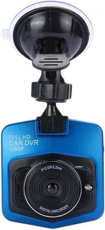 Leaftree 2.4 Mini Driving Recorder Full HD Interpol/ée 1080P , Bleu et Noir