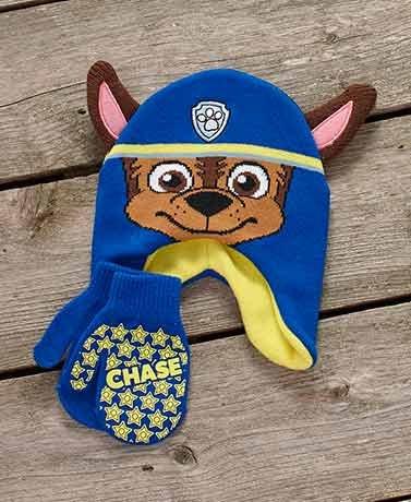Hi Hats Costume (Favorite Character Toddler Hat & Mitten Sets ( Paw Patrol™ Boy ) ( New1)