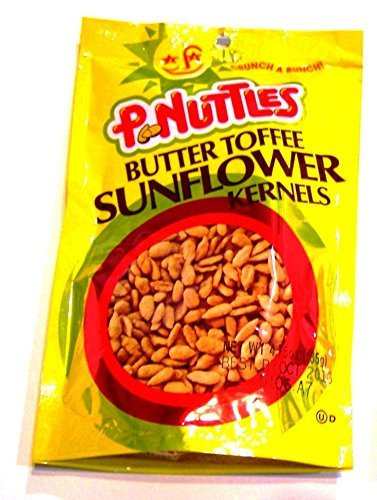 P.nuttles Butter Toffee Sunflower Kernels 4.75 Oz (Pack of 3) by - Sunflower Toffee