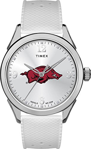 Timex Arkansas Razorback Ladies Silcone Athena Watch