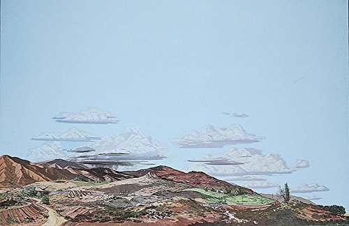 (Walthers, Inc. Instant Horizons Desert to Country Background Scene, 24 X 36 60 x 90cm )
