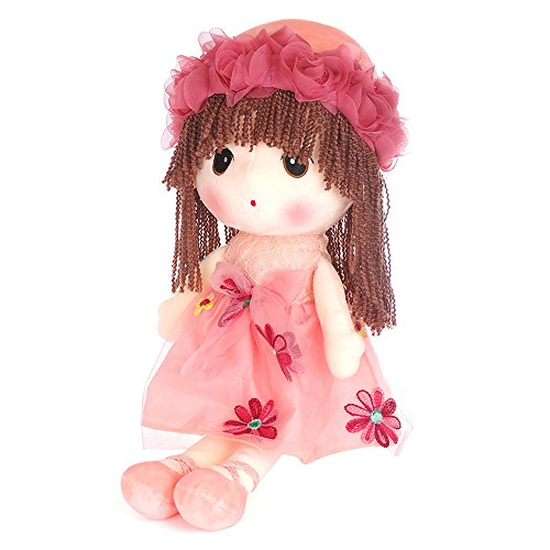 USATDD Flower Fairy Girl Stuffed Plush Doll Soft Dolly Huggable Toy Dress Best Gift By USATDD 18
