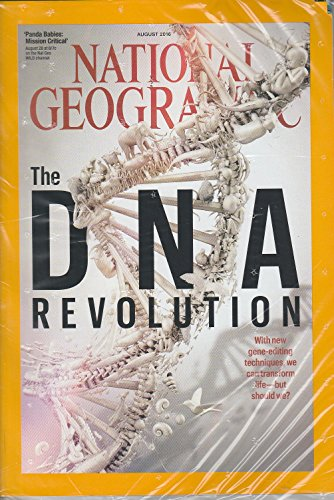 National Geographic Magazine August 2016 The DNA Revolution