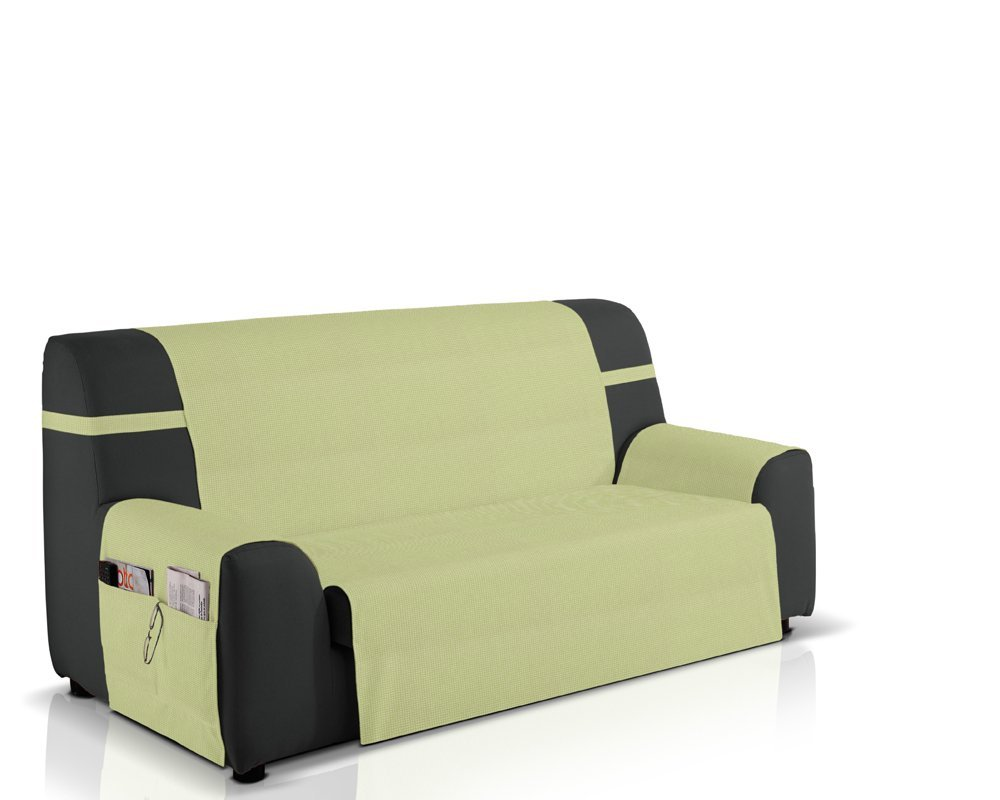 Cubre sofá Gea, 3 plazas (160 cm), Color Pistacho