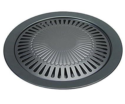 Butsir Plancha para cocinas portátiles, Negro, 39x33x33 cm, REPU0030