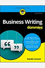 Business Writing For Dummies (For Dummies (Lifestyle)) Paperback