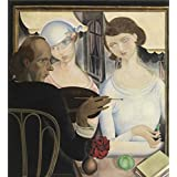 Perfect effect Canvas ,the High quality Art Decorative Canvas Prints of oil painting 'Gustave van de Woestyne - The Liqueur Drinkers,1922', 12x13 inch / 30x33 cm is best for Study decoration and Home decoration and Gifts