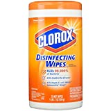 Clorox Disinfecting Wipes, Bleach Free Cleaning Wipes - Orange Fusion, 75 Count